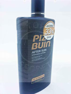 Piz Buin After Sun Soothing Lotion 24 Hour Hydration Aloe Vera 400Ml