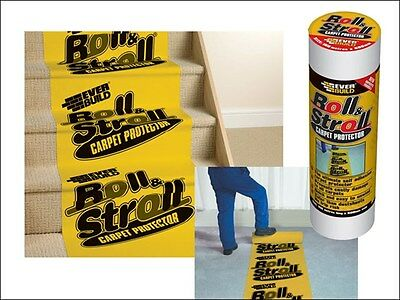 Everbuild Roll and Stroll Carpet Floor Protector Film 600mm x 25M