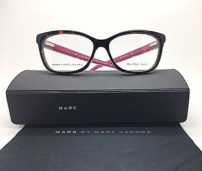 b397013a3e6c New Authentic Marc By Marc Jacobs Tortoise/ Pink Women Optic Frames-  Mmj571/C4B