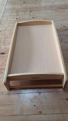 Mamas and Papas wood cot top changer