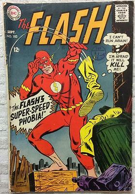 Flash #182 (DC 1968 1st series) 48 years old. VG condition. Silver Age.