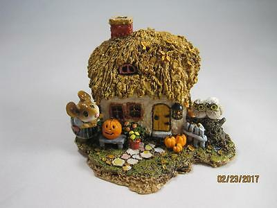 Wee Forest Folk Ltd Edition A Cottage for all Seasons - Fall Cottage - WFF
