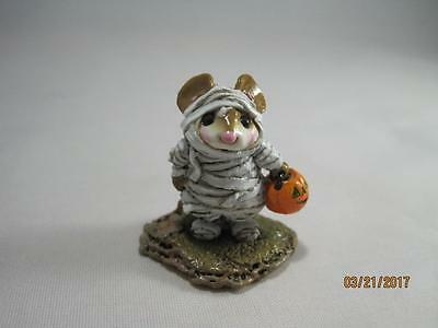 Wee Forest Folk The Mummy White Wraps - Halloween WFF in Box