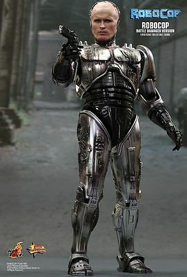 ROBOCOP - Battle Damaged 1/6th Scale Robocop Action Figure (Hot Toys) #NEW