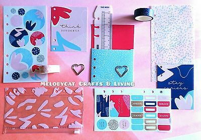 Kikki K Dashboard Kit for Medium/Small Time Planner Diary kikki.K - Creative