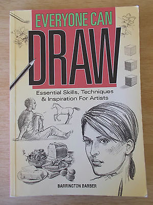 Everyone Can Draw~Barrington Barber~Skills & Techniques~352pp P/B