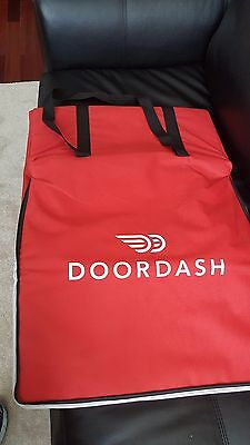 Doordash Food Delivery Bag