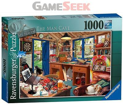 Ravensburger My Haven No 2. The Man Cave 1000Pc Jigsaw Puzzle - Toys Brand New