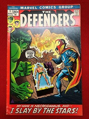 THE DEFENDERS #1    Hulk / Doctor Strange / Sub-Mariner