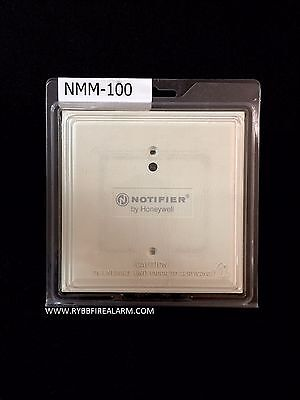 New Notifier Nmm-100 Addressable Monitor Module. Free Ship Same Business Day.