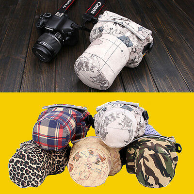Cute DSLR Camera Shoulder Bag Case For Canon Nikon Pentax Sony 700D 600D D3200