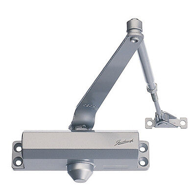 Door Closer for 40kg-65kg Doors - Silver
