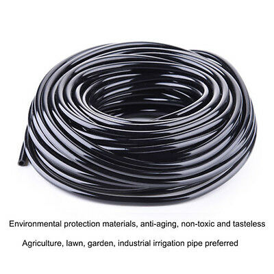 25M Irrigation Hose Micro Drip Pipe 4/7mm PVC Micro Irrigation System Water Tube