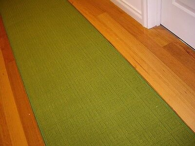 Hallway Runner Hall Runner Rug Modern Green 7 Metres Long FREE DELIVERY