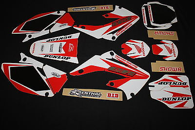 Honda  Cr125R & Cr250R 2002-2007 Mx Graphics Kit Decals Kit Stickers