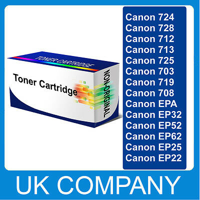 High Capacity Black Toner Cartridge for Canon i-SENSYS CRG EP Printer