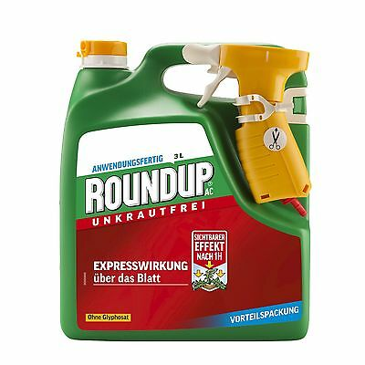 Roundup AC - 3 Litre - Weed Control Weed Weeds glyphosate-free