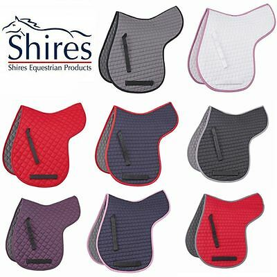 Shires Numnah - Horse Riding Equestrian Absorbent Comfortable Padded GP Showing