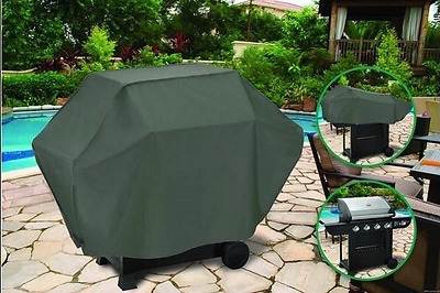 BBQ Grill Cover Waterproof 4 Burner Outdoor UV Gas Charcoal Barbecue Protector