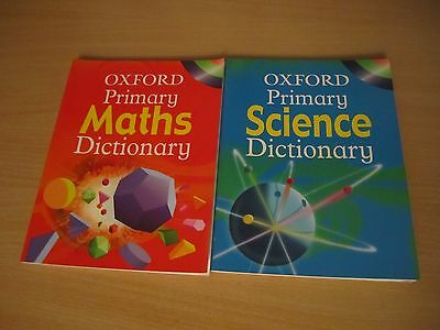 Oxford Primary Maths and Science Dictionaries