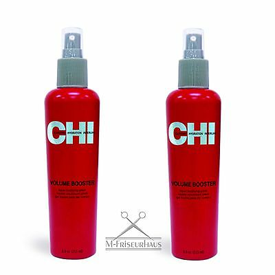 (€57,71/1L) 2x CHI 44 FAROUK Volume Booster Liquid Bodifying Glaze 251ml aus USA
