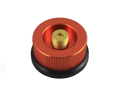 1Pcs Adaptor Tank Gas Bottle Conversion Head Outdoor Camping Stove Connector