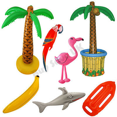 Hawaiian Summer Inflatables Luau Hawaii Fancy Dress Costume Prop