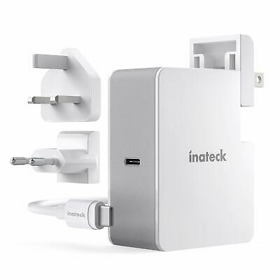 Inateck 45W tragbares USB Power-Adapter Type C für MacBook 12 Zoll, USB-C PD 3.0