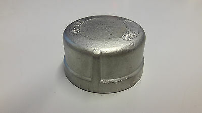 Stainless Steel 150lb BSP Cap End