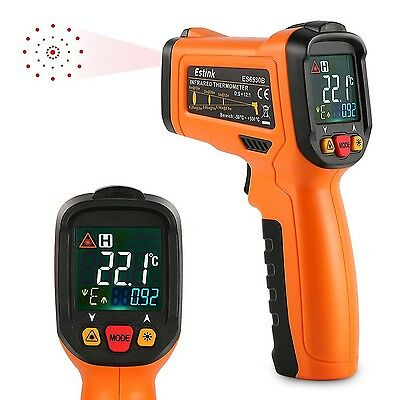 ES6530B Non-Contact Digital laser IR Infrared Thermometer Temperature Gun For...