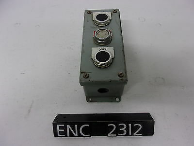 Hoffman E-947425 Steel 3 Push Button Enclosure (ENC2312)