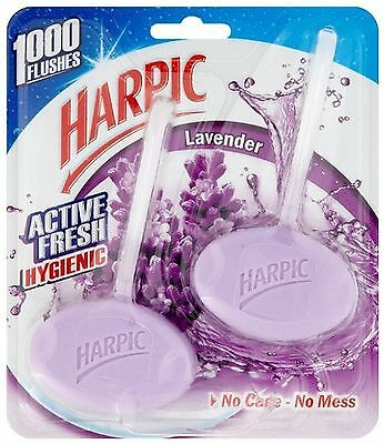 Harpic Active Fresh Hygienic Cleaning Gel 2 x 40g - Lavender Pack of 6 (Total...