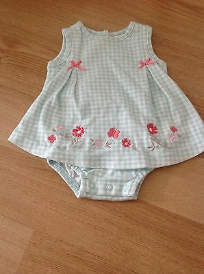 Target Baby Girl's one-piece sunsuit, Size 0-3 months