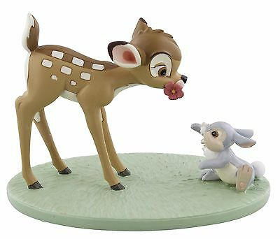 Disney Magical Moments Bambi Thumper Special Friends Figurine Ornament 9cm DI190