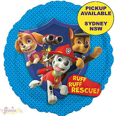 PAW PATROL PARTY SUPPLIES 45cm FOIL BALLOON BIRTHDAY DECORATIONS