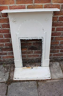 cast iron fireplace and base for restoration