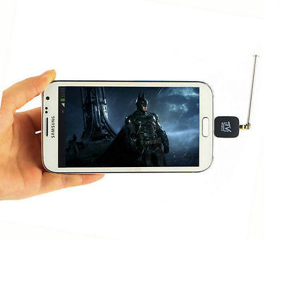 Micro USB DVB-T Digital Mobile TV Tuner Receiver+Antenna for Android 4.0-6.0 CY