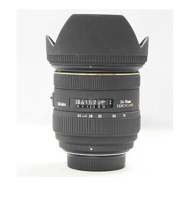 Used Sigma 24-70mm f/2.8 IF EX DG HSM AF Standard Zoom Lens for Nikon