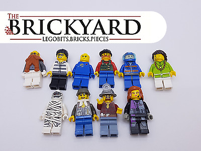 10 X Lego Random Minifigures From Assorted Sets And Series 11A6