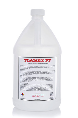 Flamex Fire Retardant Spray For Fabric and Wood (Interior Use Only)