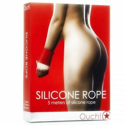 Ouch Corde Silicone Rouge 5 Mètres