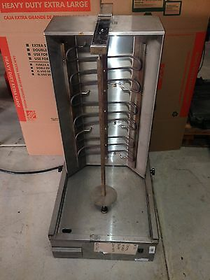 Vertical Electric Broiler 220 Volt (unknown brand)