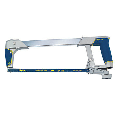"Irwin 10504407 12"" 300mm Professional Soft Grip I 125 Metal Hacksaw & Blade New"