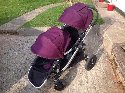Baby City Select Double Jogger Double Seat Stroller