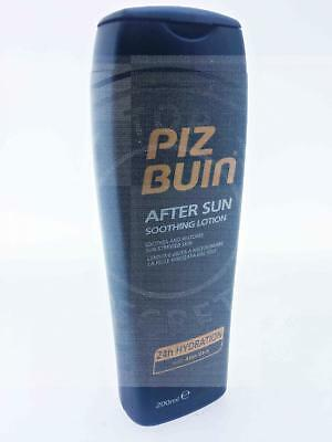 Piz Buin After Sun Soothing Lotion 200Ml 24 Hour Hydration Aloe Vera