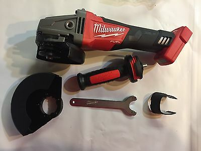 Milwaukee 18 volt Fuel Brushless 4 1/2 cordless angle grinder 2781-20 New