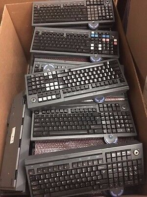 LOT OF 10 x IBM ANPOS POS Keyboard With Integrated Mouse FRU 13G2134 or 41K6962