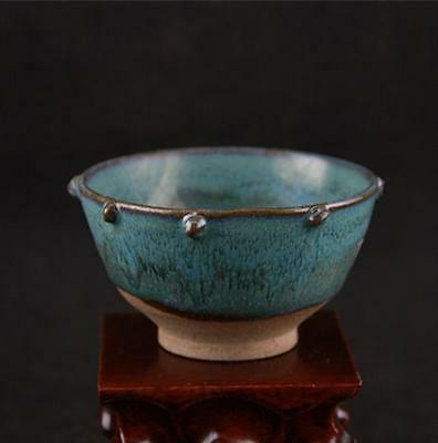 Chinese Blue flower glaze cup small bowl