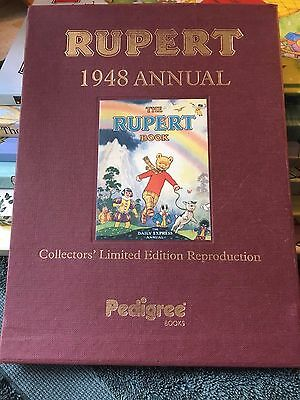 RUPERT BEAR FACSIMILIE OF 1948 ANNUAL / BOOK Collectors Edition Mint