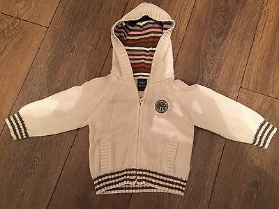 Boys Next Hooded Cardigan (9-12 Months)